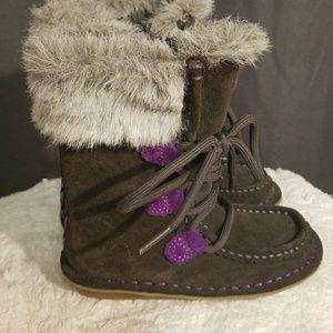 Little girl Clark boots